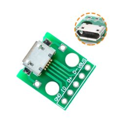 Adaptador Micro USB Tipo A Hembra a DIP