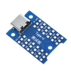 Adaptador USB Tipo C a DIP PCB