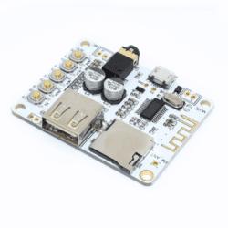 Receptor Preamplificador Bluetooth con ranura SD Salida A7-004