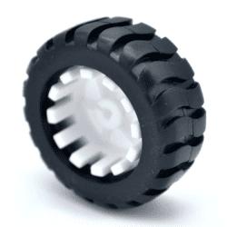 Mini Llanta De Goma 43*19*3 mm Agujero Tipo D Compatible N20