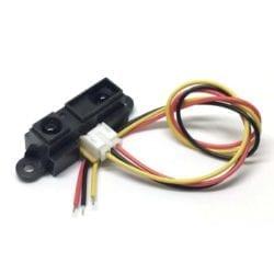 Sensor Infrarrojo Sharp GP2Y0A21YK0F de 10-80cm Arduino