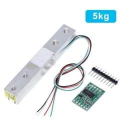 Celda De Carga De 5kg y Modulo Amplificador Hx711