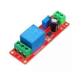 Módulo Relevador con Temporizador de Retraso Delay NE555 a 12VC