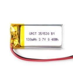Batería LiPo 3.7V 130mA