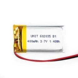 Batería LiPo 3.7V 400mA