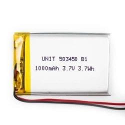 Batería LiPo 3.7V 1000mA