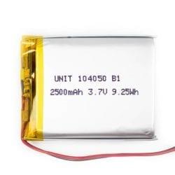 Batería LiPo 3.7V 2500mA