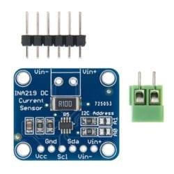 Sensor Corriente INA219 3V-5V I2C