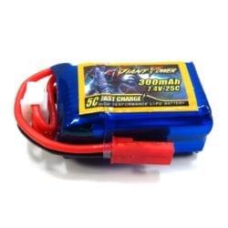 Batería LiPo 7.4v 300mAh 2S