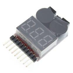 Medidor de voltaje 1-8S