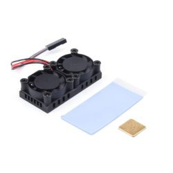 Mini Ventilador Dual Para Raspberry Pi