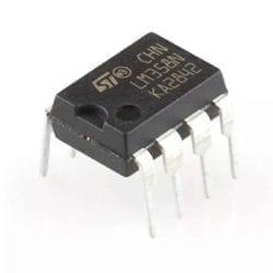 LM358 Amplificador