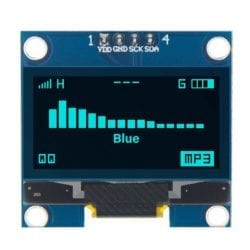 Display Lcd Oled Azul 128x64 1.3 Pulgadas SH1106 I2C