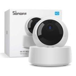 Sonoff Cámara Seguridad Wifi Ethernet Gk-200mp2-b
