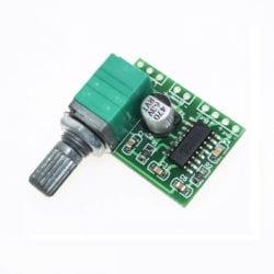 Mini Amplificador 5V con Control de Volumen PAM8403